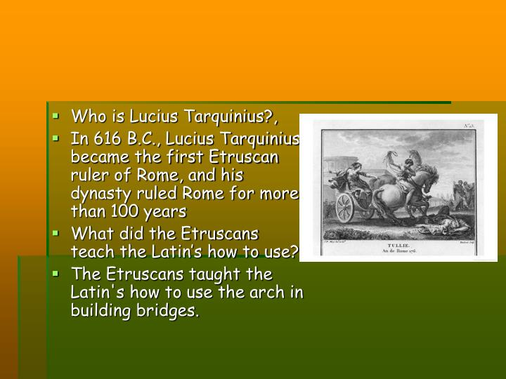 Who is Lucius Tarquinius?,