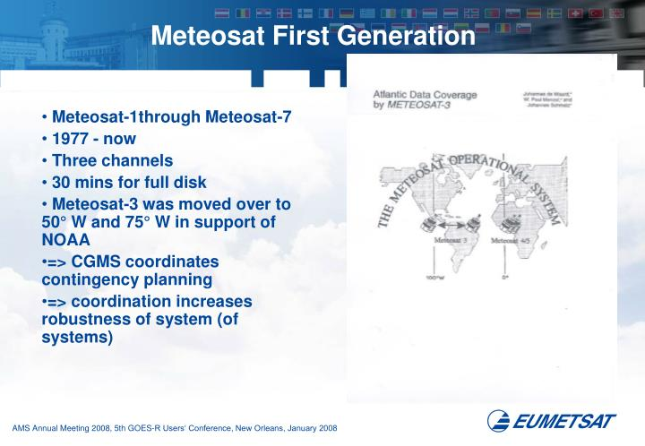 Meteosat First Generation