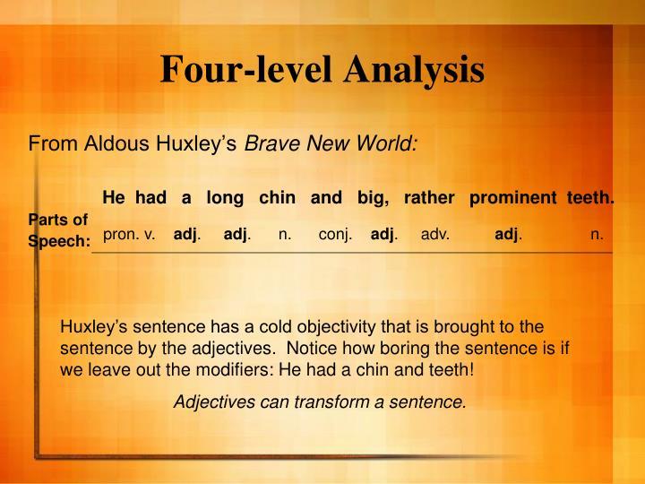 Four-level Analysis