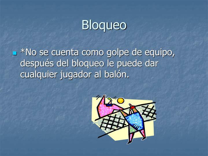 Bloqueo