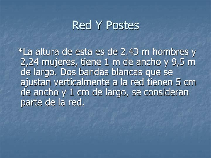Red Y Postes