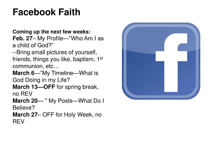 Facebook Faith