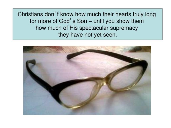 Christians don