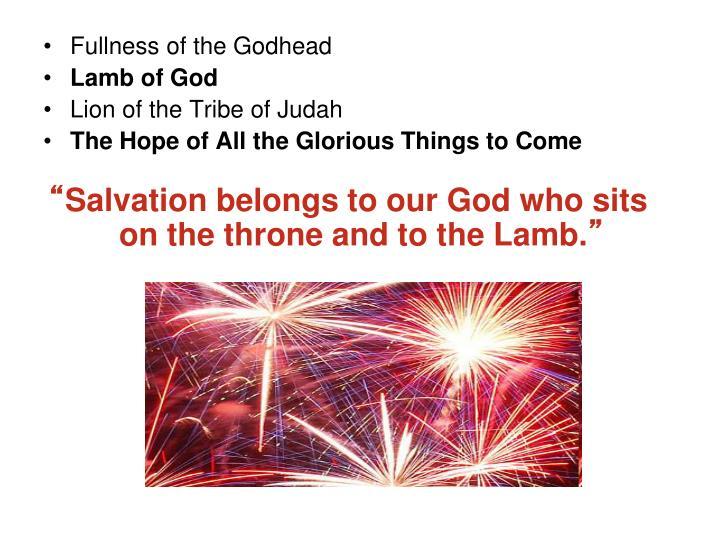 Fullness of the Godhead