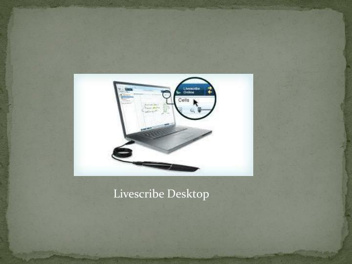 Livescribe Desktop