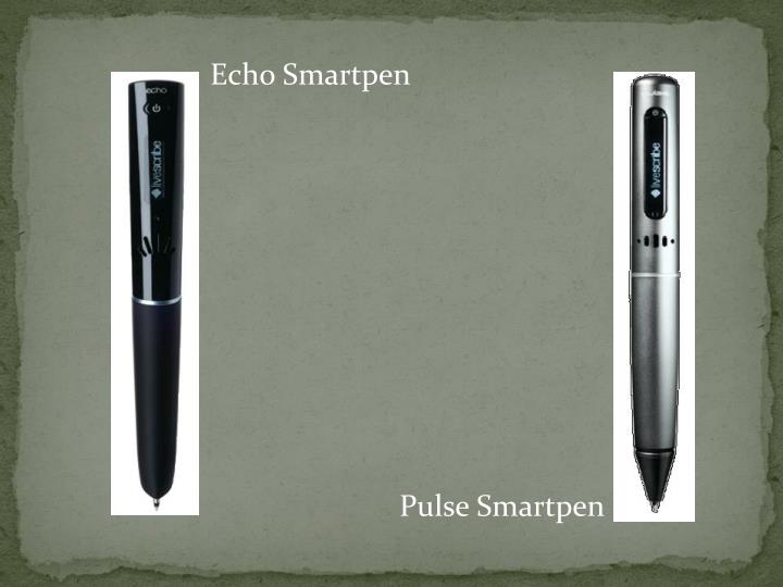 Echo Smartpen