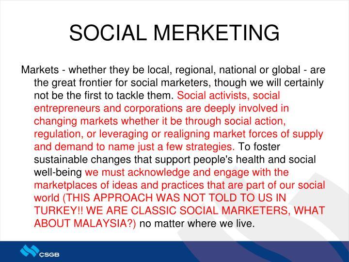 SOCIAL MERKETING