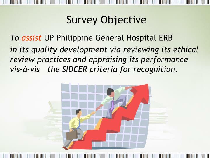 Survey Objective