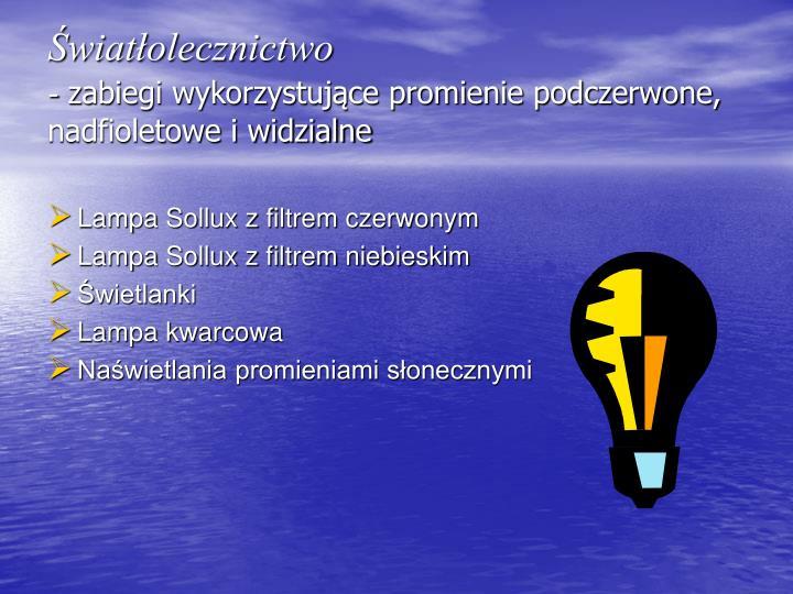 Światłolecznictwo