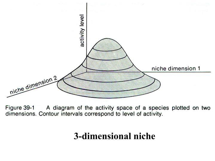 3-dimensional niche