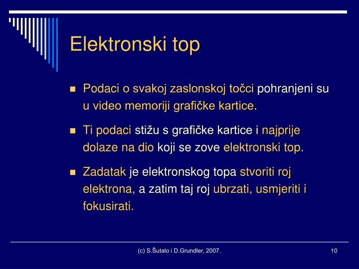 Elektronski top