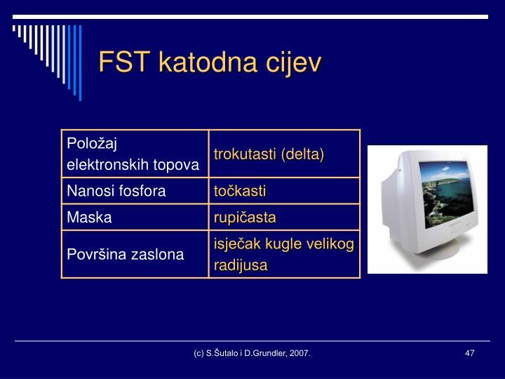 FST katodna cijev