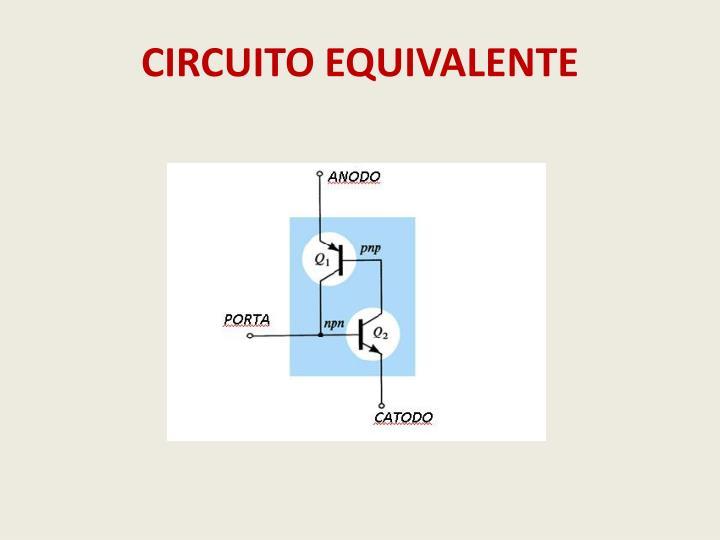 CIRCUITO EQUIVALENTE