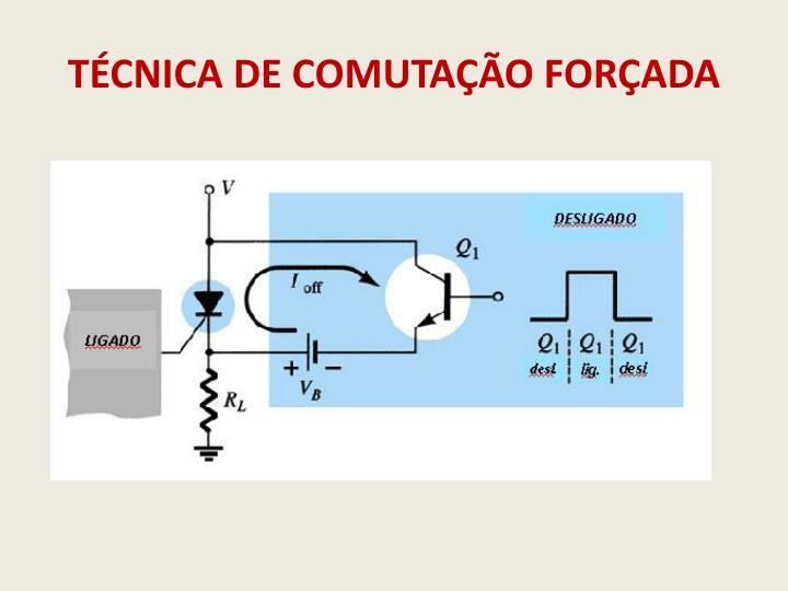 TÉCNICA DE COMUTAÇÃO FORÇADA