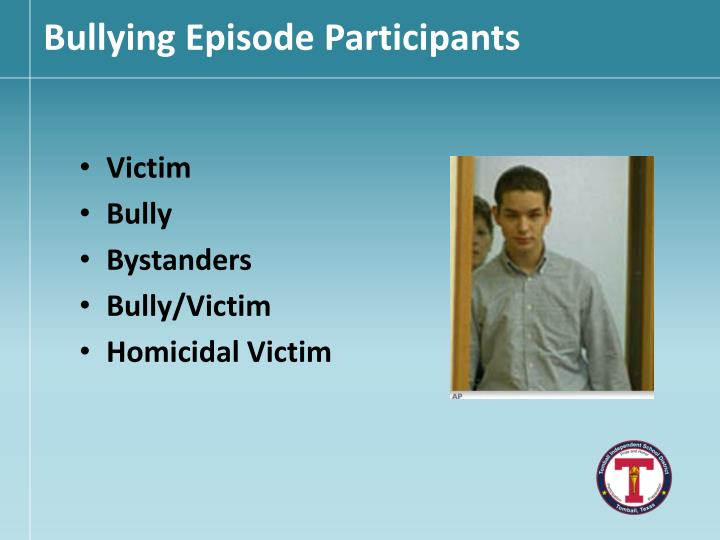 Bullying Episode Participants