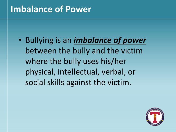 Imbalance
