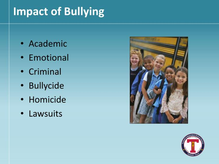 Impact of Bullying