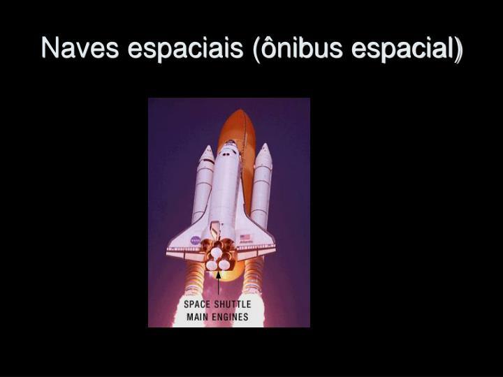 Naves espaciais (ônibus espacial)