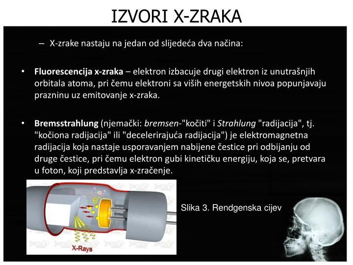 IZVORI X-ZRAKA