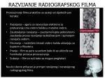 razvijanje radiografskog filma1