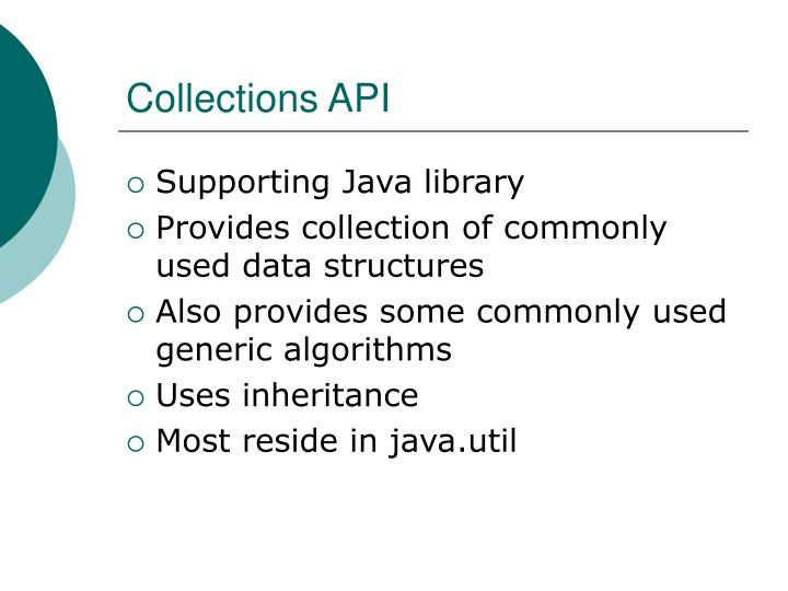 Collections API
