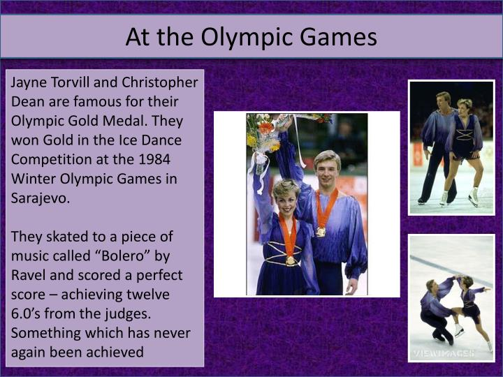 At the Olympic Games