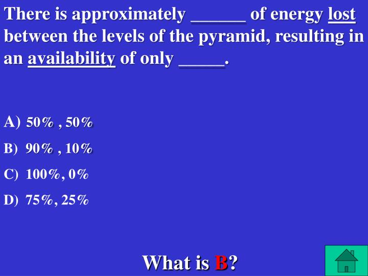 There is approximately ______ of energy