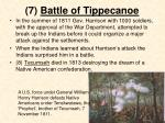 7 battle of tippecanoe