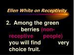 ellen white on receptivity11