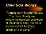 how god works1