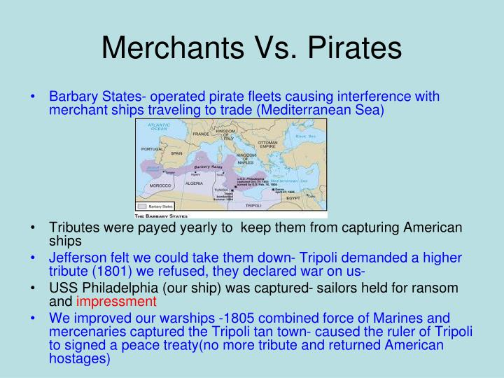 Merchants Vs. Pirates