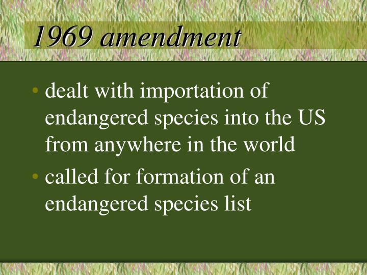 1969 amendment