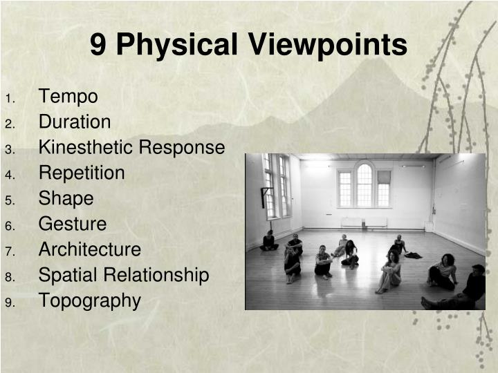 9 Physical Viewpoints