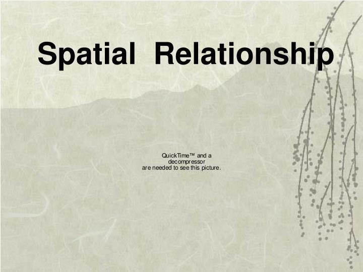 Spatial  Relationship