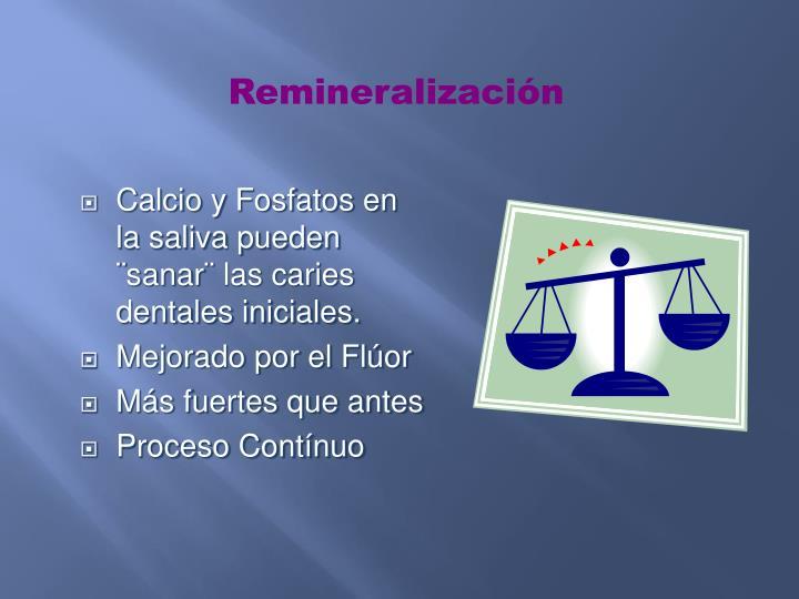 Remineralización
