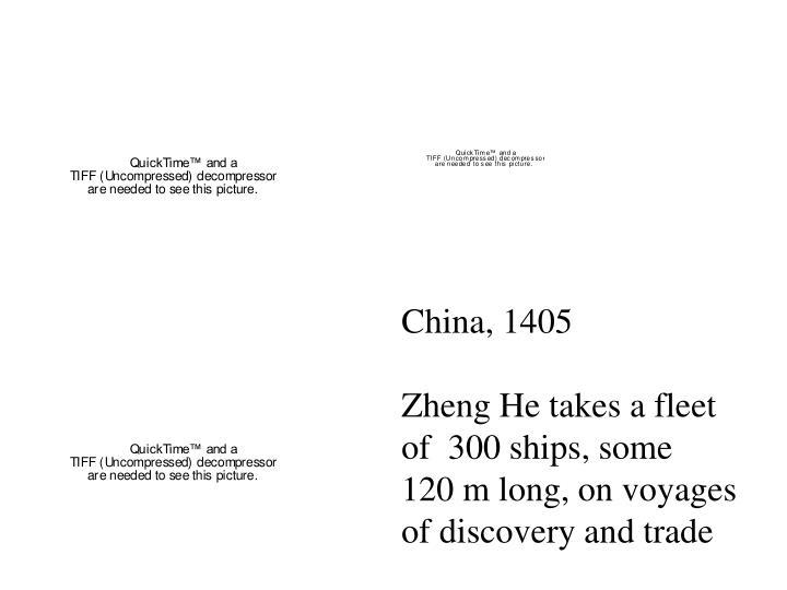 China, 1405