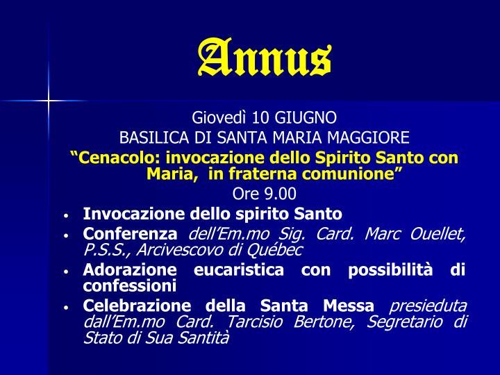 Annus