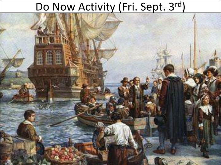 Do now activity fri sept 3 rd