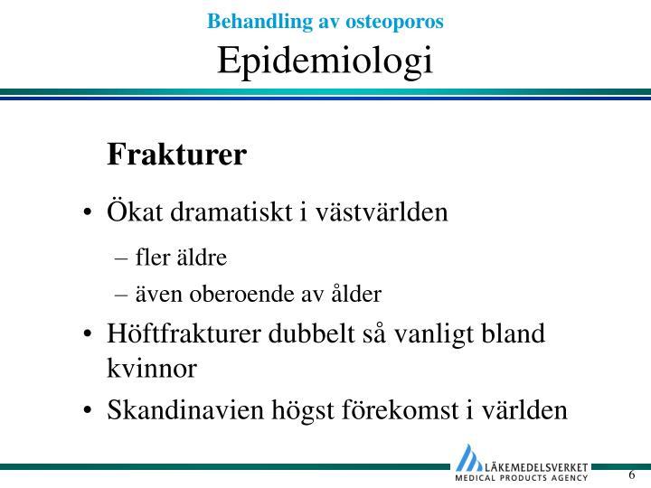 Epidemiologi