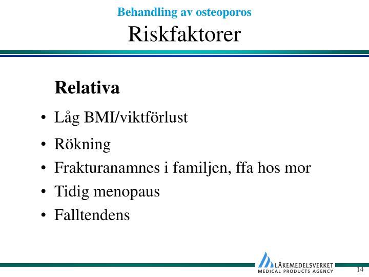 Riskfaktorer