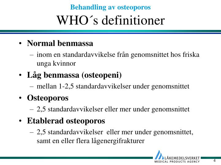WHO´s definitioner