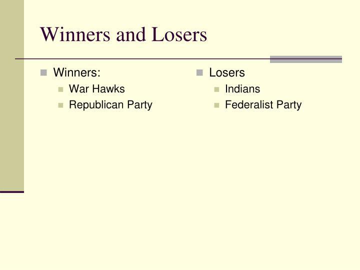 Winners: