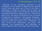 2 corinthians 12 7 10