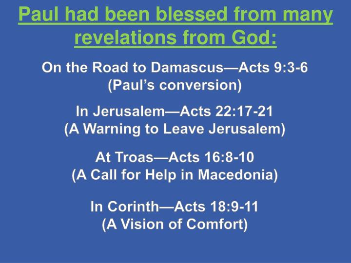 On the Road to Damascus—Acts 9:3-6