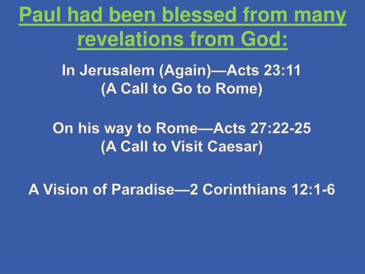 In Jerusalem (Again)—Acts 23:11