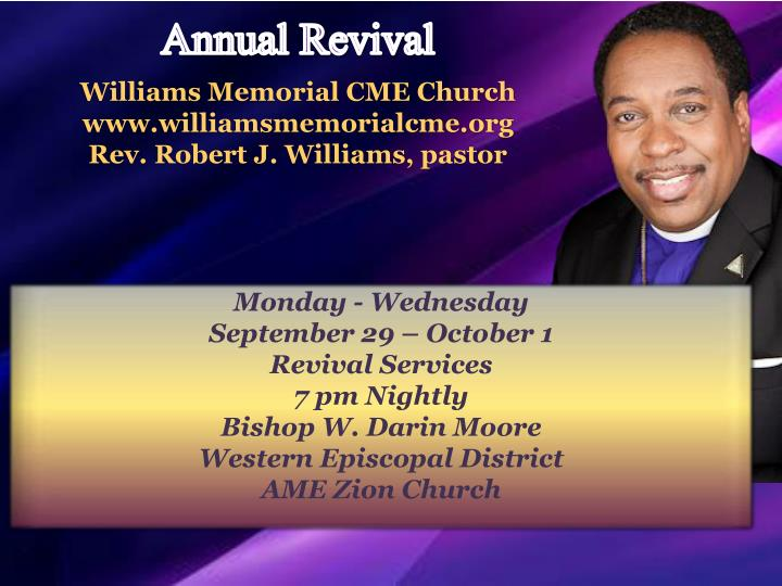 Williams Memorial CME Church