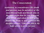 the consecration2