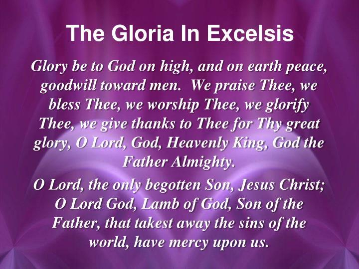 The Gloria In