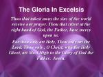 the gloria in excelsis1