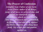 the prayer of confession